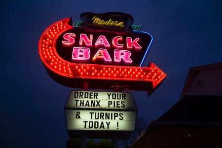 A Modern Snack Bar