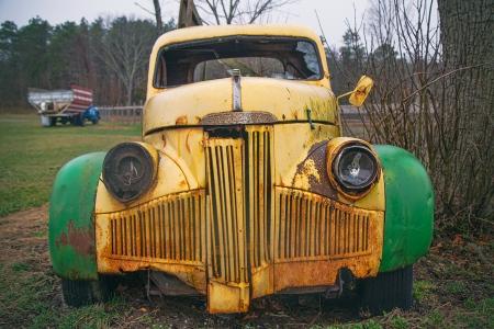 Roadside Studebaker