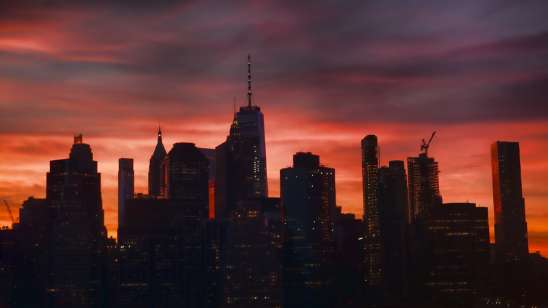 Manhattan-Skyline