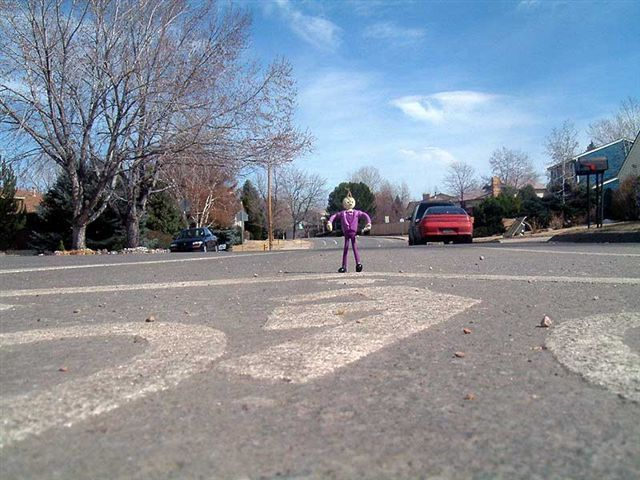 The-Pink-Man-in-the-Road