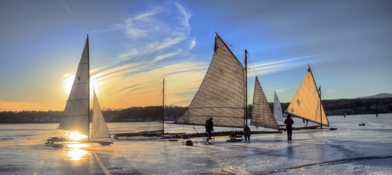 Iceboats-on-the-Hudson