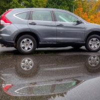 A-Puddle-and-a-New-Car