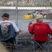 Relaxing at the Raceway